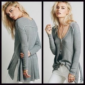 Free people sweater long sleeve top